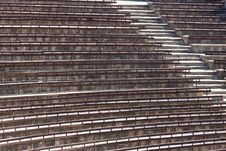 Free Empty Seats In Summer Theatre Royalty Free Stock Photos - 20908348