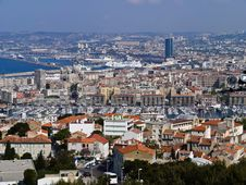 Free A View On Marseilles City In France Royalty Free Stock Image - 20908506