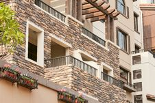 Free Apartment Balcony Stock Images - 20908594