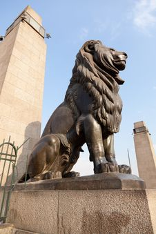 Free Lion Statue Stock Image - 20909041