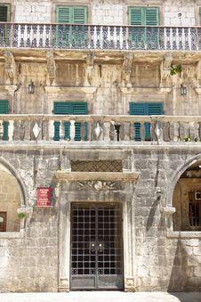 Free Palace Of Pima Family - Kotor, Montenegro Stock Photography - 20909052