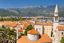 Free View On Budva Old Town - Montenegro Stock Photos - 20909593
