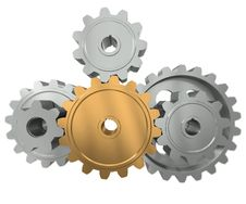 Free Group Gears Royalty Free Stock Photo - 20909635