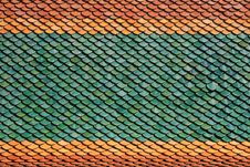 Free Colorful Tiles Of Thai Temple Roof Royalty Free Stock Photos - 20909948