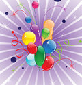 Free Flying Balloons Stock Image - 20910061