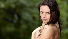 Free Beautiful Girl In The Rain Stock Photography - 20910072