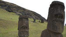 Free Easter Island Moai Stock Images - 20910084