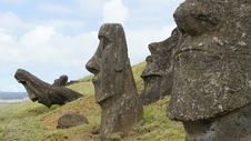 Free Easter Island Moai Royalty Free Stock Images - 20910099