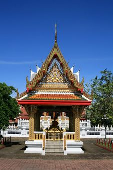 Free Beautiful Architecture Of Thai Temple Stock Photography - 20910432