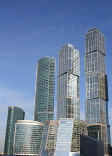 Buildings Of The Area Stock Photos