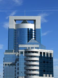 Free High Tech Building Of The Area Royalty Free Stock Image - 20911446