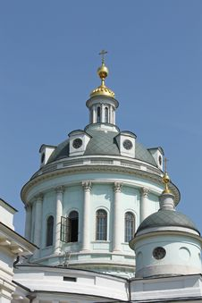 Free Temple Of St. Martin In Moscow Stock Image - 20911771