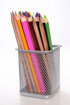 Coloured Pens Royalty Free Stock Image