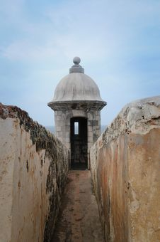 Free Fort El Morro - Puerto Rico Royalty Free Stock Image - 20912576