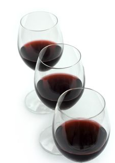 Free Three Glasses Of Red Wine Stock Image - 20912741