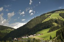 Free Overview Of A Valley In South Tyrol Stock Image - 20912791