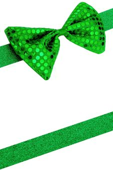 Free Bowtie With Ribbon Background Royalty Free Stock Photos - 20914288