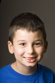 Free Boy With Missing Teeth Royalty Free Stock Photography - 20914677