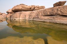 Free Landscape Eroded Stone Stock Photography - 20915212