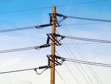 Free Electricity Post Stock Photography - 20915322