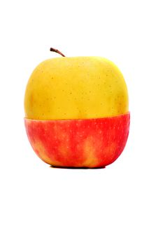 Free Red Yellow Apple Stock Images - 20915444