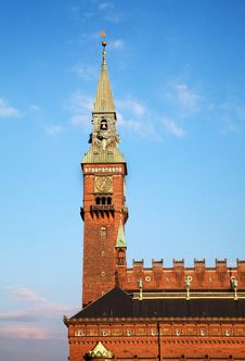 Free Copenhagen City Hall Stock Photo - 20915510