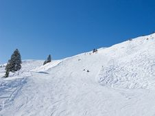 Free Skiing Slope Royalty Free Stock Photography - 20915657