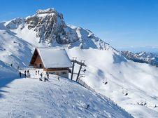 Free Skiing Slope Stock Photography - 20915712