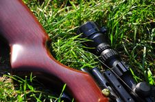 Free Air Rifle Royalty Free Stock Photos - 20916428