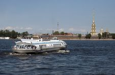 Free The Peter And Paul Fortress Royalty Free Stock Photos - 20918718