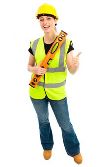 Free Female Construction Stock Photos - 20918923