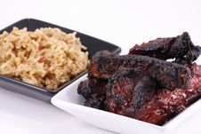 Free Barbecued Ribs Royalty Free Stock Photography - 20918977