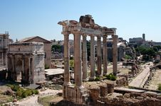 Free Rome, Forum Royalty Free Stock Images - 20919449