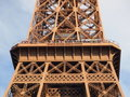 Free Eiffel Tower Second Deck And Visitor Stock Image - 20920551