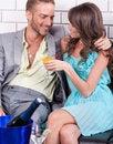 Free Amorous Couple Celebrating Together Stock Photo - 20922990