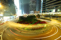 Free Busy Traffic In Hong Kong At Night Stock Photography - 20926282