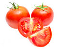 Free Red Tomato Vegetable With Cut Isolated Royalty Free Stock Photo - 20926685