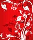 Free Ornate Corner Floral Design Royalty Free Stock Photo - 20928995