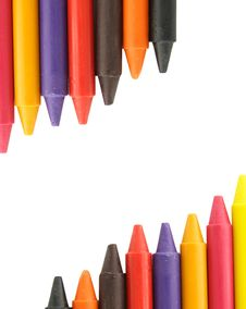 Free Wax Crayons Royalty Free Stock Photography - 20921097