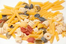 Free A Lot Of Raw Pasta Royalty Free Stock Photography - 20921397