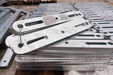 Free Flat Metal Bar Stack In Group Stock Photography - 20922062