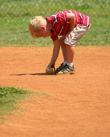 Free Boy With Baseball Stock Photos - 20922383
