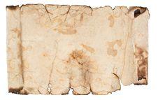 Free Old Grunge Scroll Stock Image - 20922461