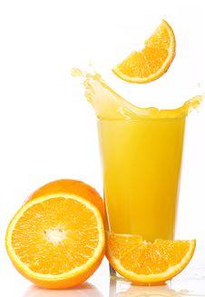 Free Fresh And Cold Orange Juice Stock Photo - 20922750