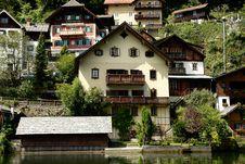 Free Hallstatt, A Village In Salzkammergut, Austria Royalty Free Stock Image - 20923006