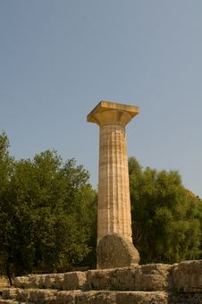 Free Temple Olympia Stock Photography - 20923252