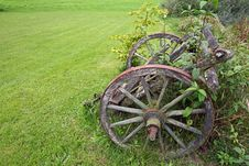 Free Ancient Farming Trailer Royalty Free Stock Images - 20924089