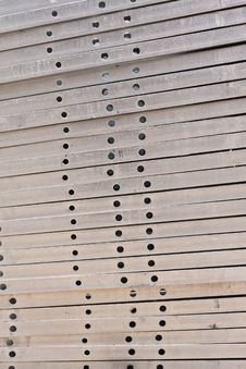 Free Metal Girder In Group From Side Stock Photos - 20924363