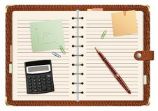 Free Open Personal Organizer Royalty Free Stock Images - 20924759