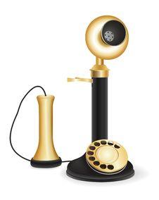 Free Retro Telephone Stock Photography - 20924772